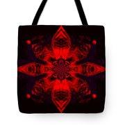 1107 - Mandala Red   Tote Bag