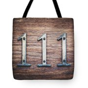 111 Or 3 Tote Bag