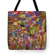 1144 Abstract Thought Tote Bag