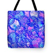 1166 Abstract Thought Tote Bag