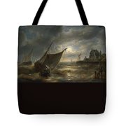 the battle of Santa Cruz de Tenerife Tote Bag
