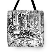 Adam And Eve.  Tote Bag