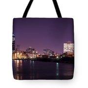 City Lights Skyline Tote Bag
