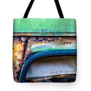 Colored Rust Metal Tote Bag