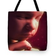 Developing Fetus Tote Bag