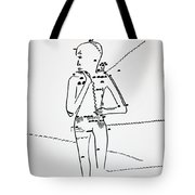 Dinka Lady - South Sudan Tote Bag