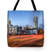 Early Morning In Charlotte Nc Tote Bag