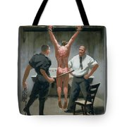 12. Jesus Is Beaten / From The Passion Of Christ - A Gay Vision Tote Bag