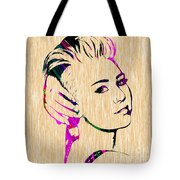 Miley Cyrus Collection Tote Bag
