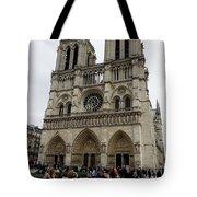 Notre Dame In Paris France Tote Bag