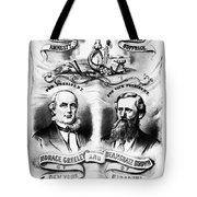 Presidential Campaign, 1872 Tote Bag