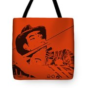 The Jazz Flutist Tote Bag