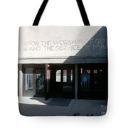 Unity Temple Tote Bag