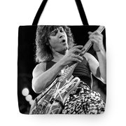 Guitarist Eddie Van Halen Tote Bag