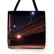 Veterans Glass City Skyway Bridge Tote Bag