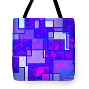 1216 Absract Thought Tote Bag