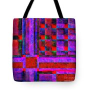1227 Abstract Thought Tote Bag