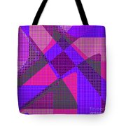 1038 Abstract Thought Tote Bag