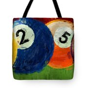 1258 Billiards Tote Bag