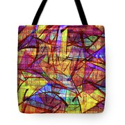 1261 Abstract Thought Tote Bag