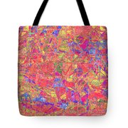 1262 Abstract Thought Tote Bag
