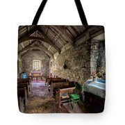 12th Century Chapel Tote Bag by Adrian Evans