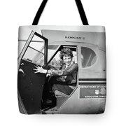 Amelia Earhart (1897-1937) Tote Bag