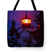 Bass Harbor Lighthouse Tote Bag