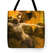 Belly Dancer Tote Bag by Corporate Art Task Force