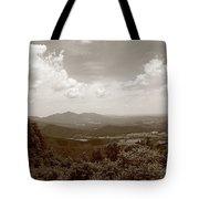 Blue Ridge Mountains - Virginia Sepia 8 Tote Bag