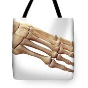 Foot Bones Tote Bag