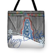 Houston Oilers Tote Bag by Joe Hamilton