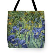 Irises Tote Bag by Vincent Van Gogh