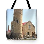 Lighthouse - Mackinac Point Michigan Tote Bag