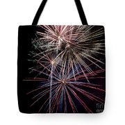 Local Fireworks Tote Bag by Mark Dodd
