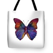 13 Narcissus Butterfly Tote Bag
