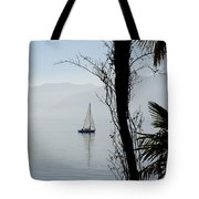 Sailing Boat Tote Bag
