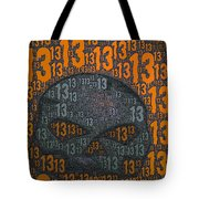 13 Skull Tote Bag