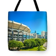 Skyline Of Uptown Charlotte North Carolina Tote Bag