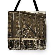 St Katherine's Dock London Tote Bag