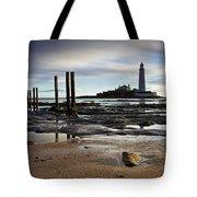St Marys Lighthouse Tote Bag
