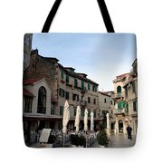 Views Of Split Croatia Tote Bag