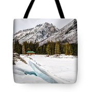 Winter In The Mountains Tote Bag