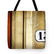 13 With Wooden Door Tote Bag