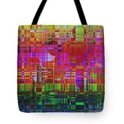1300 Abstract Thought Tote Bag