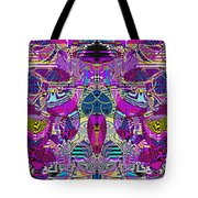 1310 Abstract Thought Tote Bag