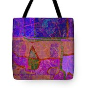 1381 Abstract Thought Tote Bag