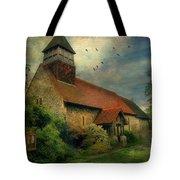 13th Century Church  Tote Bag