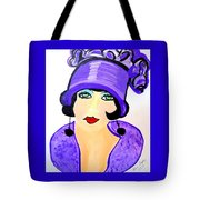 Art Deco Milly Tote Bag