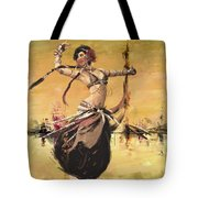 Abstract Belly Dancer 14 Tote Bag